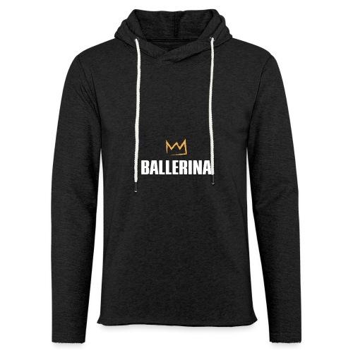 Ballerina - Leichtes Kapuzensweatshirt Unisex