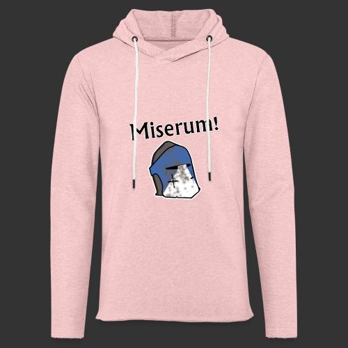Warden Cytat Miserum! - Lekka bluza z kapturem