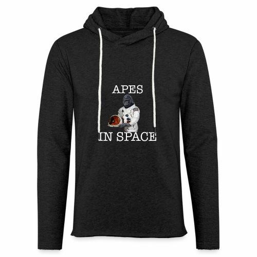 Apes in Space - Light Unisex Sweatshirt Hoodie