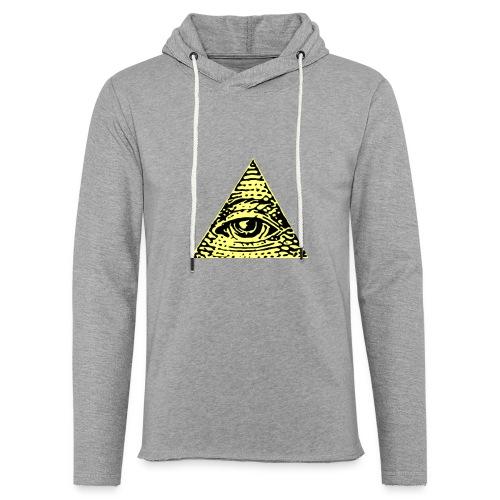 Illuminati - Lätt luvtröja unisex