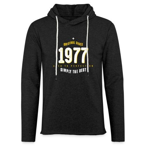 original since 1977 simply the best 40th birthday - Light Unisex Sweatshirt Hoodie