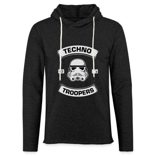 techno troopers - Leichtes Kapuzensweatshirt Unisex