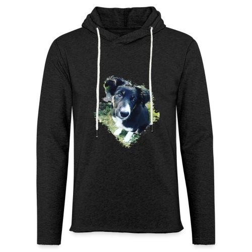 colliegermanshepherdpup - Light Unisex Sweatshirt Hoodie