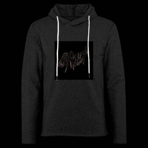 -Logo Qrust- - Sweat-shirt à capuche léger unisexe