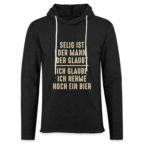 selig Mann Glaube Religion Hopfen Bier Kirche Gott - Light Unisex Sweatshirt Hoodie