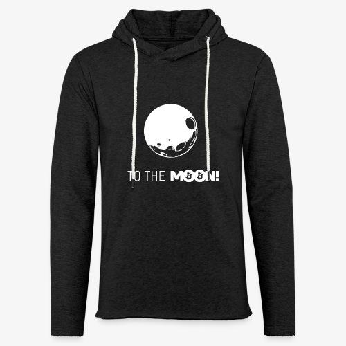 HODL-moonbtc-w - Light Unisex Sweatshirt Hoodie