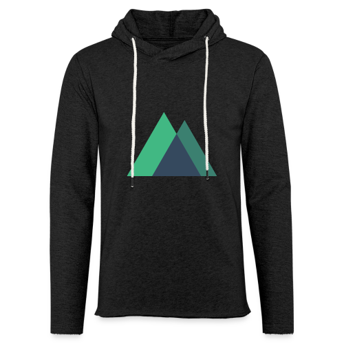 Mountain Logo - Light Unisex Sweatshirt Hoodie