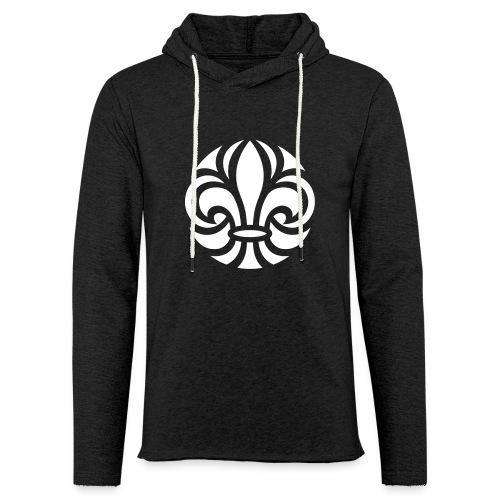 Scouterna-symbol_white - Lätt luvtröja unisex