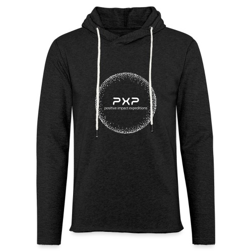 white logo transparent 2x - Light Unisex Sweatshirt Hoodie
