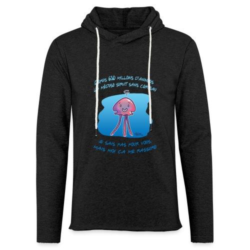 Meduse - Sweat-shirt à capuche léger unisexe