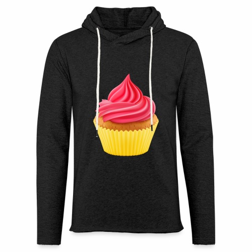 Cupcake - Leichtes Kapuzensweatshirt Unisex