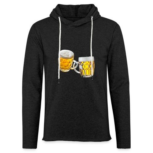 Boccali di birra - Felpa con cappuccio leggera unisex