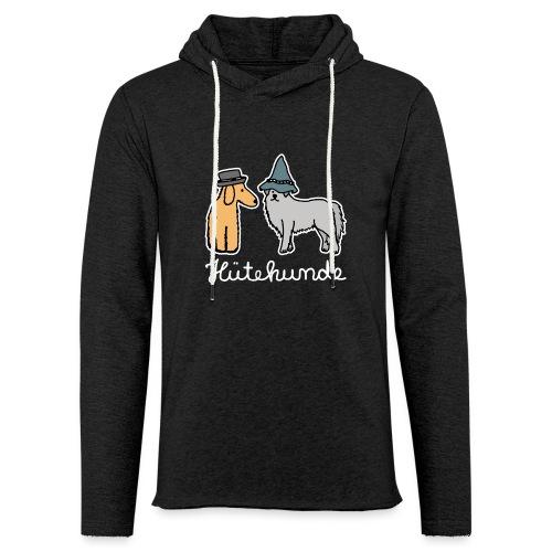 Hütehunde Hunde mit Hut Huetehund - Leichtes Kapuzensweatshirt Unisex