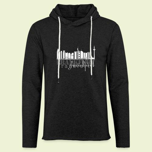 FFM - Frankfurt Skyline - Leichtes Kapuzensweatshirt Unisex