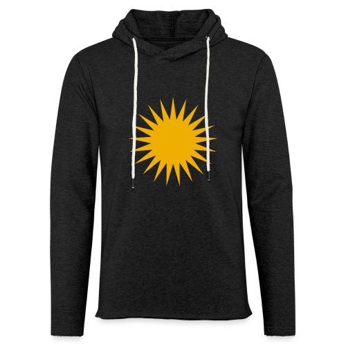 Kurdische Sonne Symbol - Leichtes Kapuzensweatshirt Unisex