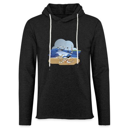 See... birds on the shore - Light Unisex Sweatshirt Hoodie