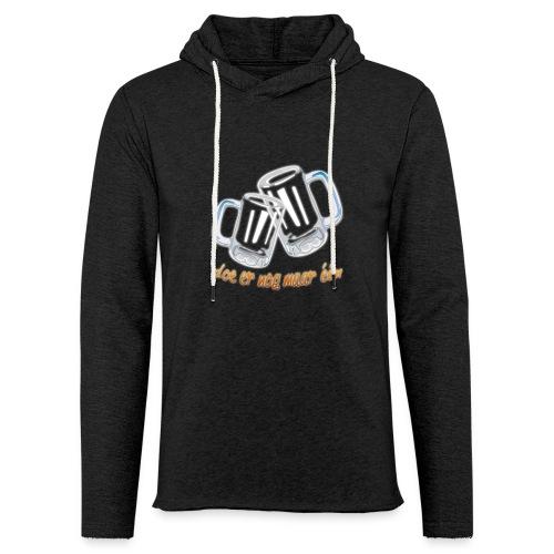 Doe er nog maar een Shirt png - Lichte hoodie unisex