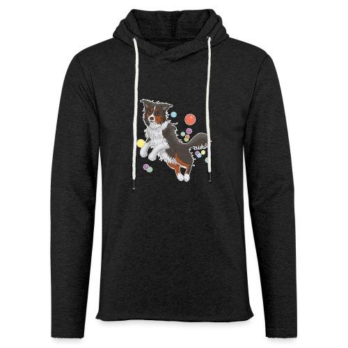 Australian Shepherd - Leichtes Kapuzensweatshirt Unisex