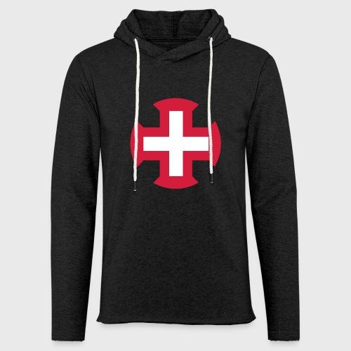 Croix du Portugal - Sweat-shirt à capuche léger unisexe