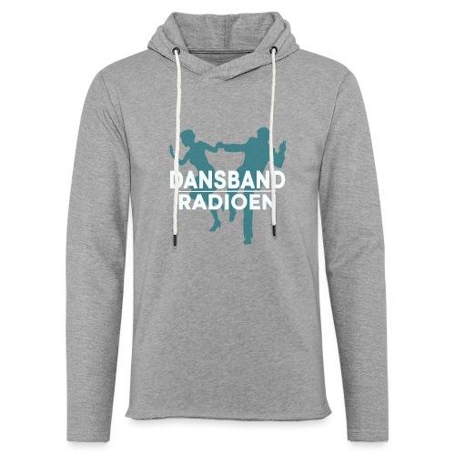 Dansbandradioen - Lett unisex hette-sweatshirt