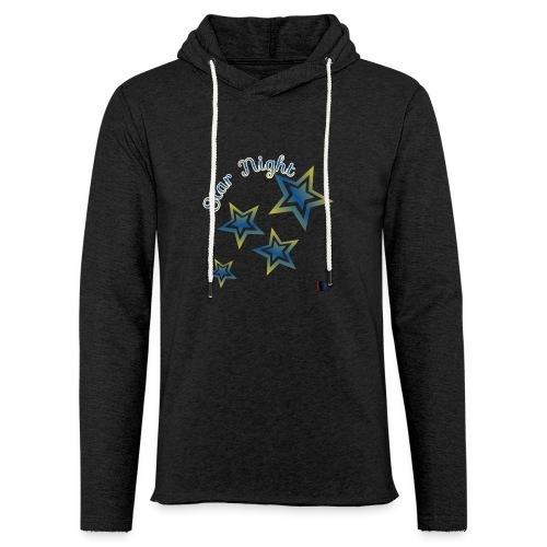 Star - Sudadera ligera unisex con capucha