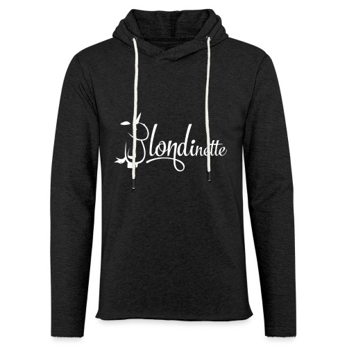 Blondinette - Sweat-shirt à capuche léger unisexe