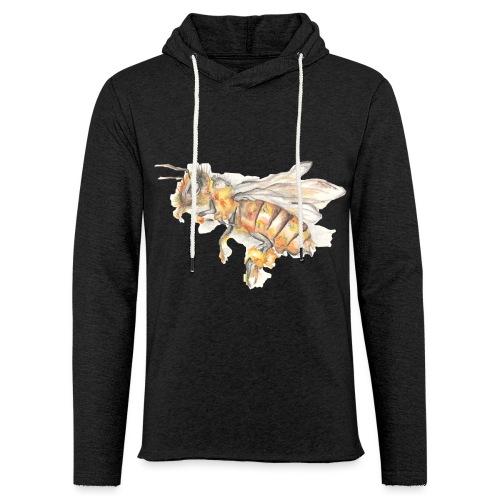 MG002 Bee | Honey | Save the Bees | Books bee - Light Unisex Sweatshirt Hoodie