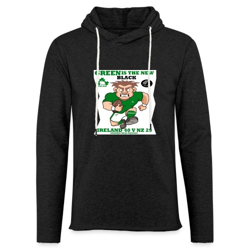 GREEN IS THE NEW BLACK !! - Light Unisex Sweatshirt Hoodie