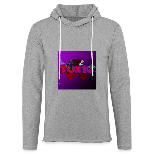 toxic paita - Kevyt unisex-huppari