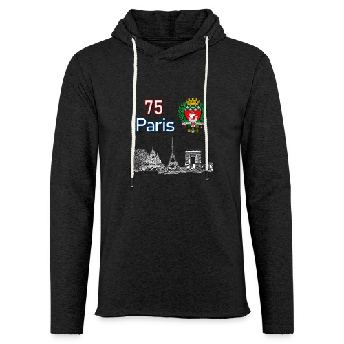 Paris france - Sweat-shirt à capuche léger unisexe