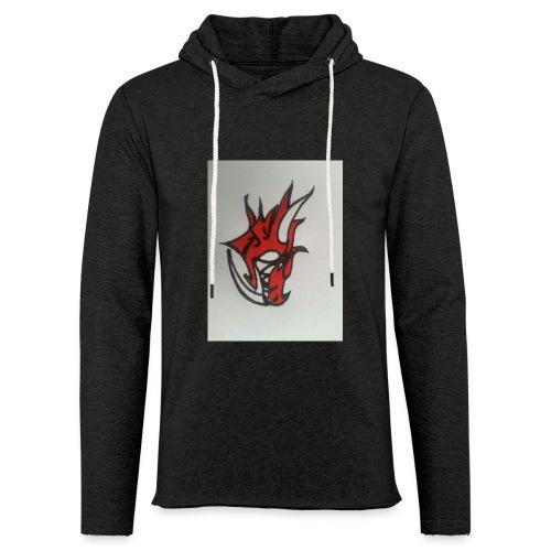 drago - Felpa con cappuccio leggera unisex