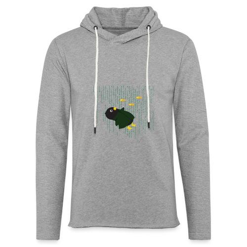 Pingouin Bullet Time - Sweat-shirt à capuche léger unisexe