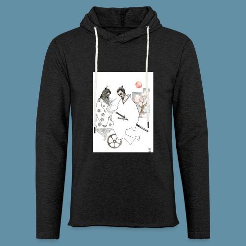 Samurai copia jpg - Felpa con cappuccio leggera unisex