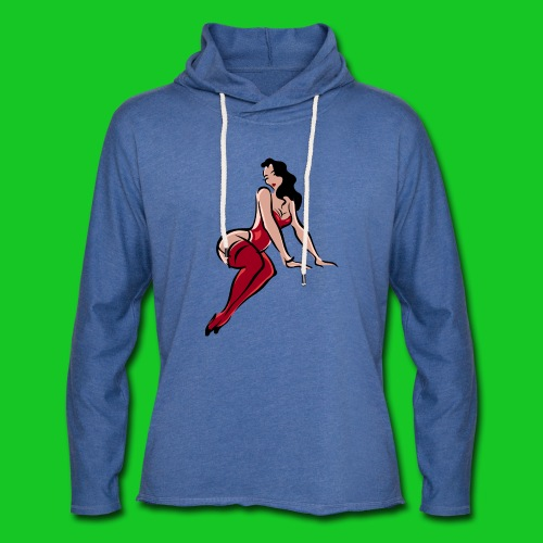 Pin up girl 3 - Lichte hoodie unisex