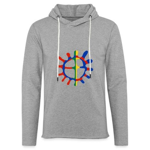 Samisk sol - Lett unisex hette-sweatshirt