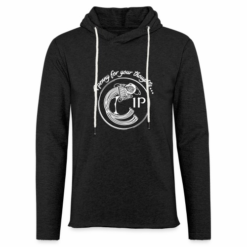 A penny for your thoughts - Light Unisex Sweatshirt Hoodie