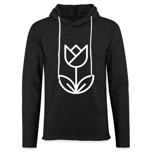 Tulip white png - Light Unisex Sweatshirt Hoodie