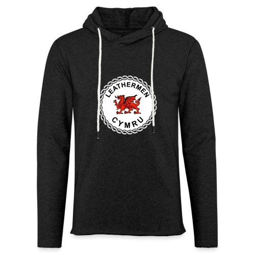 LeatherMen Cymru Logo - Light Unisex Sweatshirt Hoodie