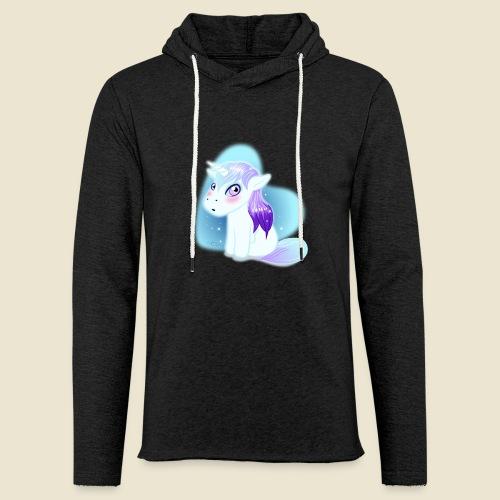 Licorne n°2 - Sweat-shirt à capuche léger unisexe