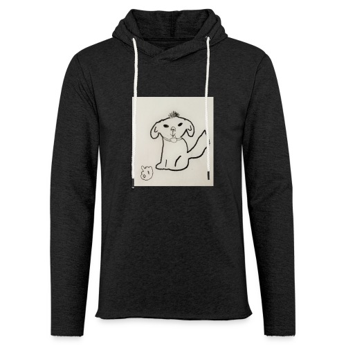 fuck dog - Lichte hoodie unisex
