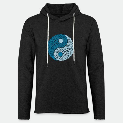 Yin und Yang Keltische Knoten Geschenk Yoga Zen - Light Unisex Sweatshirt Hoodie