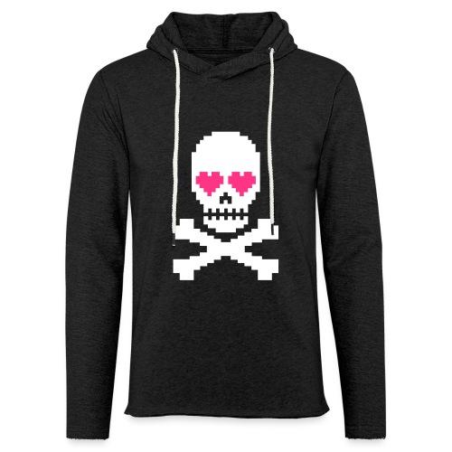 Skull Love - Lichte hoodie unisex