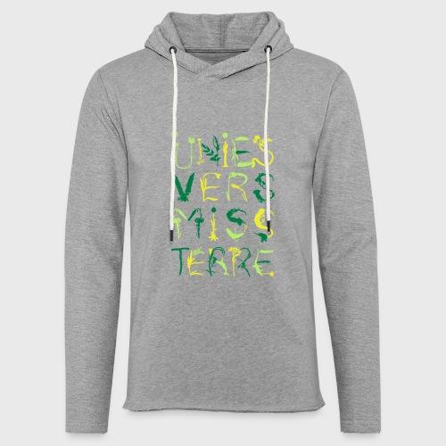 Univers Mystère - Sweat-shirt à capuche léger unisexe