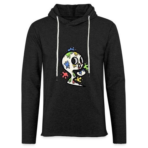 Crâne - Sweat-shirt à capuche léger unisexe