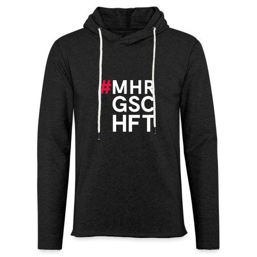 #MHR GSCHFT - Leichtes Kapuzensweatshirt Unisex