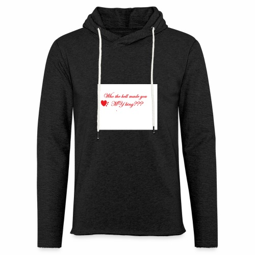 LoveYourselfTheMost - Light Unisex Sweatshirt Hoodie
