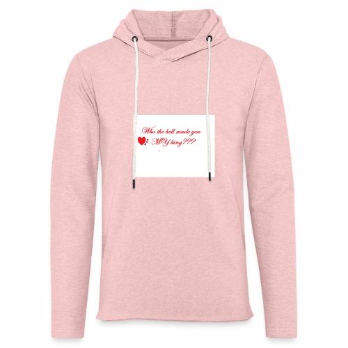 LoveYourselfTheMost - Light Unisex Sweatshirt Hoodie