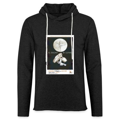 Il Sogno di Luna - Felpa con cappuccio leggera unisex