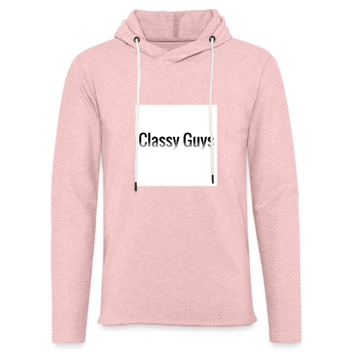 Classy Guys Simple Name - Light Unisex Sweatshirt Hoodie