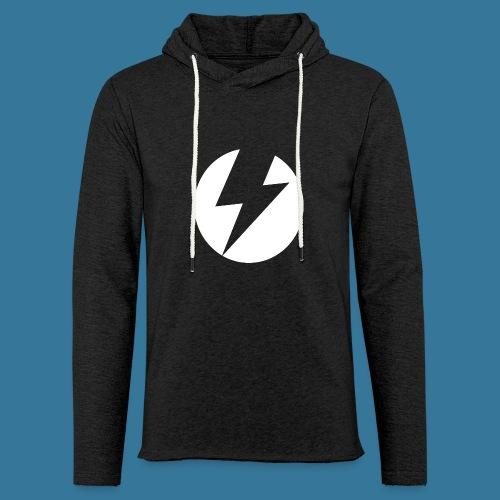BlueSparks - White - Light Unisex Sweatshirt Hoodie
